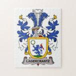 Escudo de la familia de Lagercrantz Rompecabezas Con Fotos