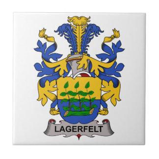 Escudo de la familia de Lagerfelt Azulejo