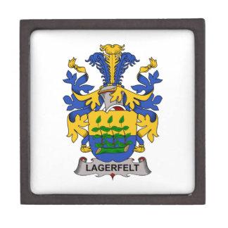 Escudo de la familia de Lagerfelt Caja De Joyas De Calidad