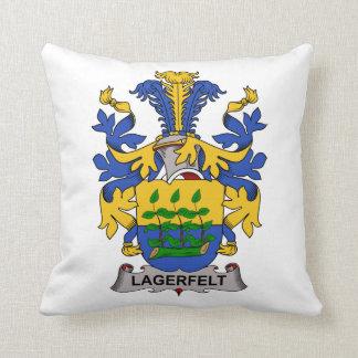 Escudo de la familia de Lagerfelt Cojines