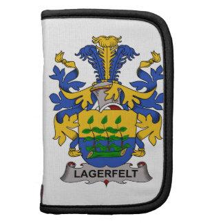 Escudo de la familia de Lagerfelt Planificadores