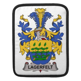 Escudo de la familia de Lagerfelt Mangas De iPad