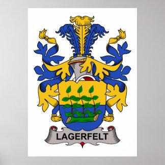 Escudo de la familia de Lagerfelt Impresiones