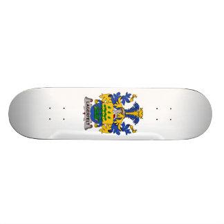 Escudo de la familia de Lagerfelt Monopatín Personalizado