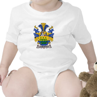 Escudo de la familia de Lagerfelt Traje De Bebé