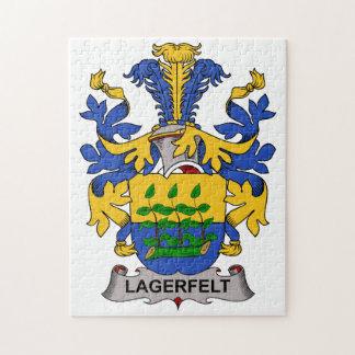 Escudo de la familia de Lagerfelt Rompecabezas