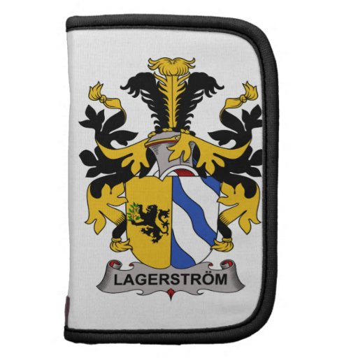 Escudo de la familia de Lagerstrom Planificadores