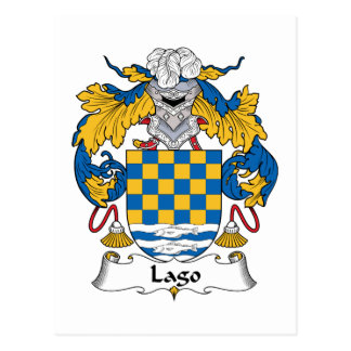 Escudo de la familia de Lago Postal