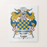Escudo de la familia de Lago Puzzle