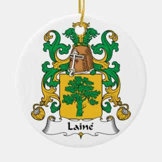 Escudo de la familia de Laine Adornos
