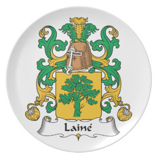 Escudo de la familia de Laine Platos