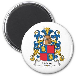 Escudo de la familia de Lalane Imanes Para Frigoríficos