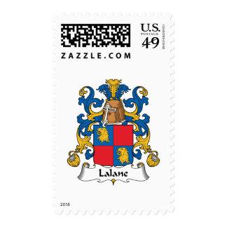 Escudo de la familia de Lalane Sello