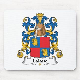 Escudo de la familia de Lalane Alfombrilla De Raton