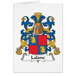 Escudo de la familia de Lalane Tarjeton