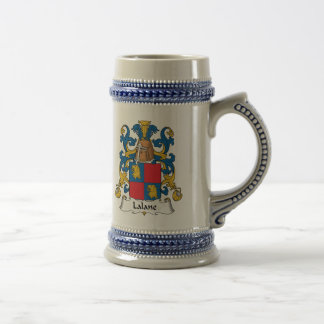 Escudo de la familia de Lalane Tazas De Café