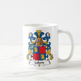 Escudo de la familia de Lalane Tazas