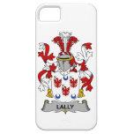 Escudo de la familia de Lally iPhone 5 Case-Mate Funda