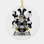 Escudo de la familia de Lambe Ornamento De Reyes Magos