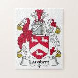 Escudo de la familia de Lamberto Rompecabeza Con Fotos