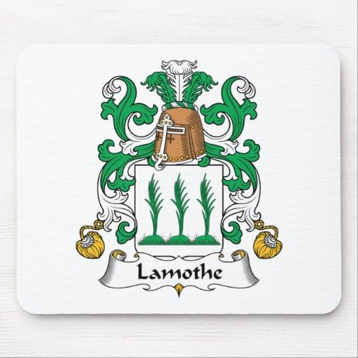 Escudo de la familia de Lamothe Mousepads
