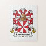 Escudo de la familia de Lamoureux Rompecabezas
