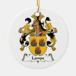 Escudo de la familia de Lampe Ornato