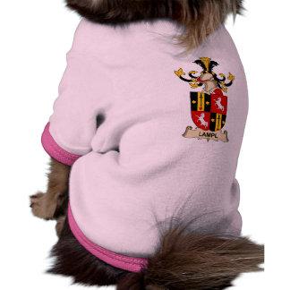 Escudo de la familia de Lampl Camiseta De Perrito