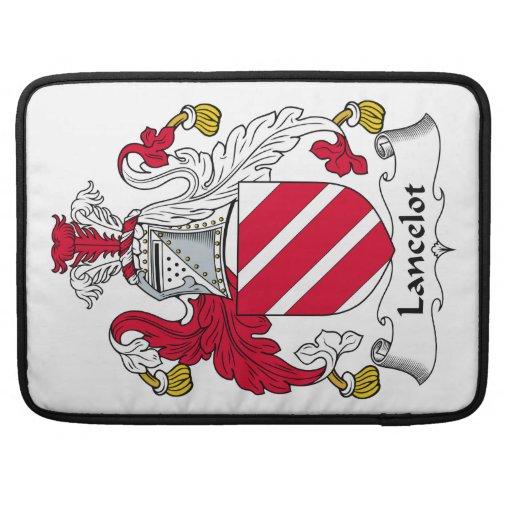 Escudo de la familia de Lancelot Funda Para Macbook Pro