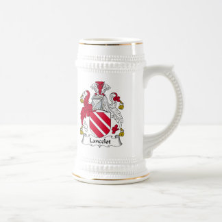 Escudo de la familia de Lancelot Jarra De Cerveza
