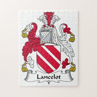 Escudo de la familia de Lancelot Puzzle