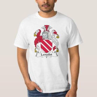 Escudo de la familia de Lancelot Remera