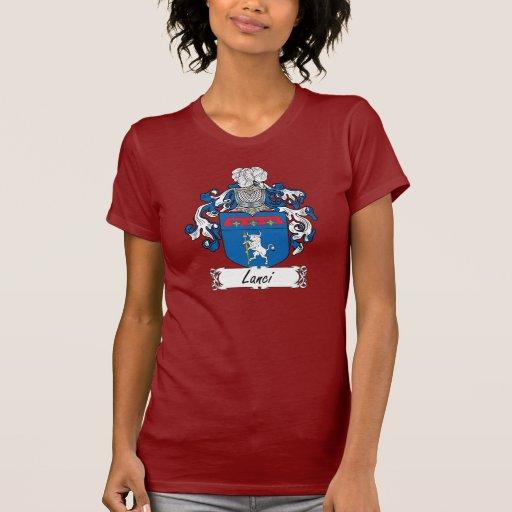 Escudo de la familia de Lanci Camiseta