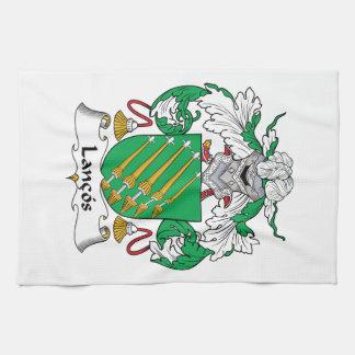 Escudo de la familia de Lancos Toalla