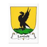 Escudo de la familia de Landolt Impresiones En Lienzo Estiradas