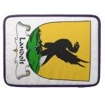 Escudo de la familia de Landolt Fundas Para Macbooks