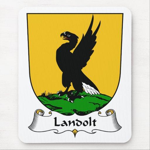 Escudo de la familia de Landolt Alfombrilla De Ratón