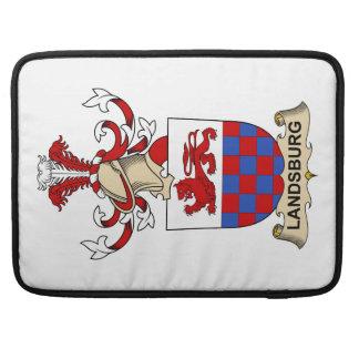 Escudo de la familia de Landsburg Funda Macbook Pro