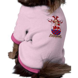 Escudo de la familia de Landsburg Camisa De Mascota