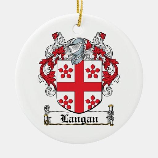 Escudo de la familia de Langan Ornamento De Reyes Magos