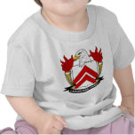 Escudo de la familia de Langborne Camiseta