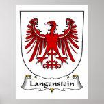 Escudo de la familia de Langenstein Impresiones