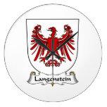 Escudo de la familia de Langenstein Reloj