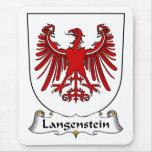 Escudo de la familia de Langenstein Tapete De Ratón