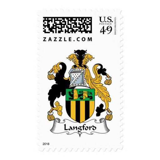 Escudo de la familia de Langford Sellos