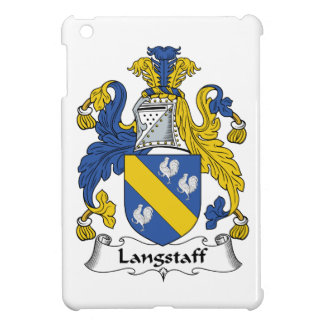 Escudo de la familia de Langstaff iPad Mini Protector