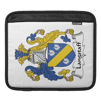 Escudo de la familia de Langstaff Funda Para iPads