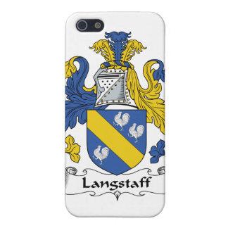 Escudo de la familia de Langstaff iPhone 5 Carcasa