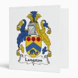 Escudo de la familia de Langston
