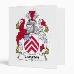 Escudo de la familia de Langton